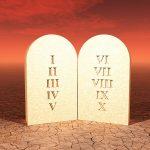 Quais são os dez mandamentos da lei de Deus?