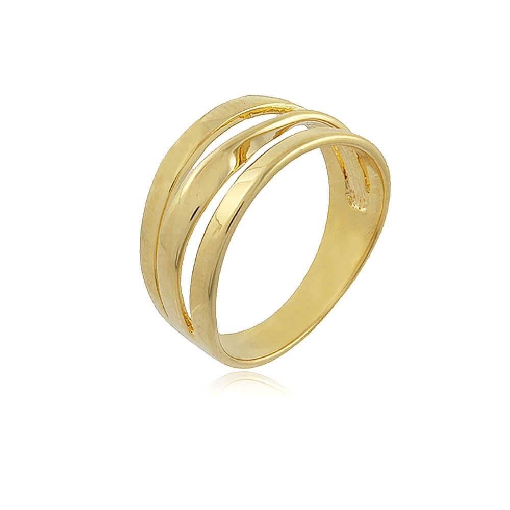 Anel Amarilis - banho de ouro amarelo