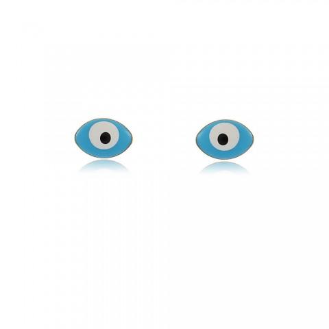 Brinco Olho Grego Uma - resina